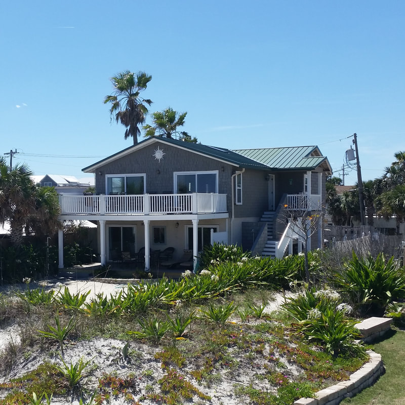 Casa Del Sol Oceanfront Vacation Al Home St Augustine Beach Florida Fl
